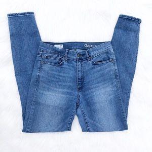 Gap 1969 Vintage High Rise Skinny Jeans